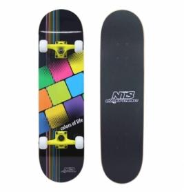 Скейтборд Nils Extreme (CR3108SB-CL) Colors of Life