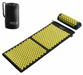 Коврик акупунктурный с валиком 4Fizjo Аппликатор Кузнецова (4FJ0087) Black 128 x 48 см