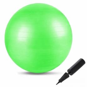 Мяч для фитнеса (фитбол) 65 см Springos см Anti-Burst FB0002 Green