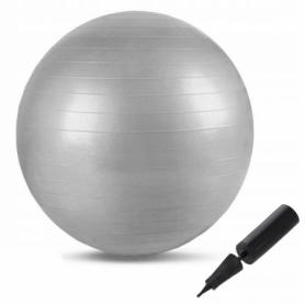 Мяч для фитнеса (фитбол) 75 см Springos Anti-Burst FB0003 Grey