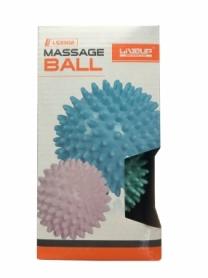 Набор массажных мячей LiveUp Massage Ball (LS3302-bp), 2 шт. - Фото №2