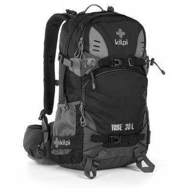 Рюкзак спортивный Kilpi Rise-U (JU0014KIBLKUNI) - черный, 30 л