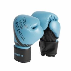 Перчатки боксерские LivePro Sparring Gloves, голубые