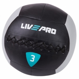 Мяч для кроcсфита LivePro Wall Ball (LP8100-3), 3кг