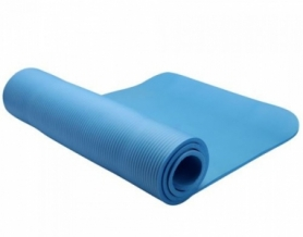 Коврик для фитнеса LiveUP Nbr Mat (LS3257-80b), голубой