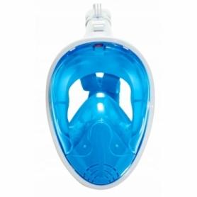 Маска для снорклинга SportVida Blue (SV-DN0003) - L-XL - Фото №3