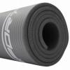 Коврик для йоги и фитнеса SportVida NBR 15 мм серый (SV-HK0249) - Фото №4