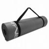 Коврик для йоги и фитнеса SportVida NBR 15 мм серый (SV-HK0249) - Фото №6