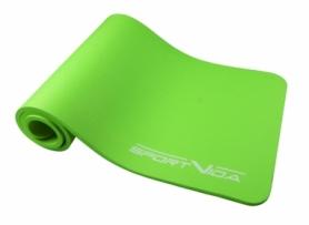 Коврик для йоги и фитнеса SportVida NBR 15 мм Green (SV-HK0250)