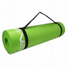 Коврик для йоги и фитнеса SportVida NBR 15 мм Green (SV-HK0250) - Фото №5