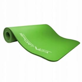 Коврик для йоги и фитнеса SportVida NBR 15 мм Green (SV-HK0250) - Фото №6