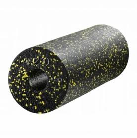 Ролик массажный (валик, роллер) 4FIZJO EPP PRO+ (4FJ0089) Black/Yellow, 45 x 14.5 см