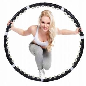 Обруч массажный Springos Hula Hoop 85 см черный (FA0094)