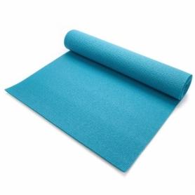 Коврик для йоги и фитнеса Meteor Yoga Mat (SL31459) - бирюзовый, 180x60x0,5 см