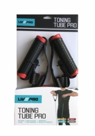 Эспандер трубчатый LivePro Toning Tube Pro (LP8405-M)