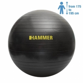 Распродажа*! Фитбол Hammer Gymnastics Ball Anti-Burst System (66408), 75см