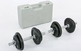 Гантели наборные в коробке 2 шт по 10 кг