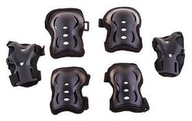 Распродажа*! Защита для катания (комплект) 522-957(цвет черный)