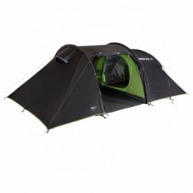 Палатка трехместная High Peak Naxos 3.0 Dark Grey/Green (928136)