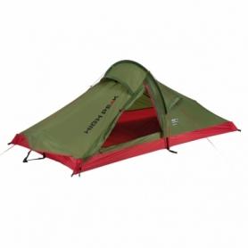 Палатка двухместнаяHigh Peak Siskin 2.0 Pesto/Red (928135)