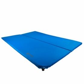 Коврик туристический Highlander Base Double Self Inflate Blue (927923), 183х132х3см