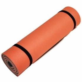 Коврик для йоги и фитнеса Champion (A00250) - оранжево-серый, 1800х600х12