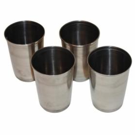 Набор стаканов нержавеющая сталь Champion (I7013), 200мл (4шт) + чехол