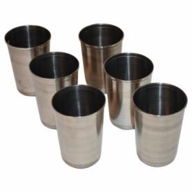 Набор стаканов нержавеющая сталь Champion (I7014), 200мл (6шт) + чехол