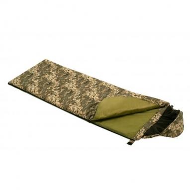 Мешок спальный (спальник) одеяло с капюшоном Champion Average (NE-S-1276)
