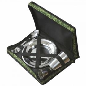 Набор посуды туристический Champion (A00370), 15 предметов