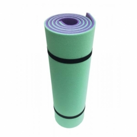 Коврик для йоги и фитнеса Champion (A00250-2) - зелено-фиолетовый, 1800х600х12