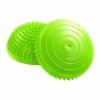 Полусфера массажная балансировочная 4Fizjo Balance Pad Green (4FJ0059), 16см