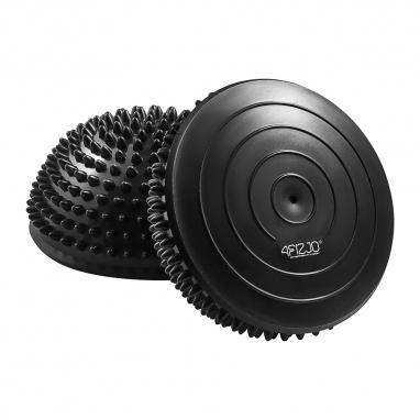 Полусфера массажная балансировочная 4Fizjo Balance Pad Black (4FJ0108), 16см
