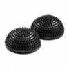 Полусфера массажная балансировочная 4Fizjo Balance Pad Black (4FJ0108), 16см - Фото №2