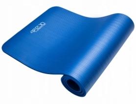Коврик (мат) для йоги и фитнеса 4FIZJO NBR Blue (4FJ0112), 180х60см