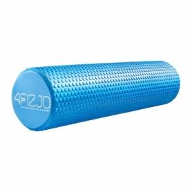 Ролик массажный (валик, роллер) 4FIZJO EVA Blue (4FJ0118), 60x15см
