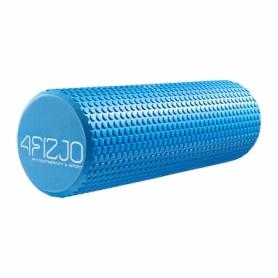 Ролик массажный (валик, роллер) 4FIZJO EVA Blue (4FJ0119), 45x15см