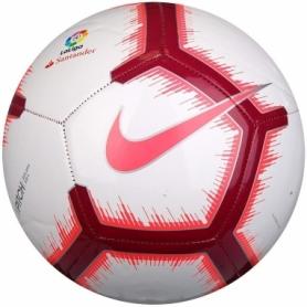 Мяч футбольный Nike La Liga Pitch (SC3318-100-5) - белый, №5