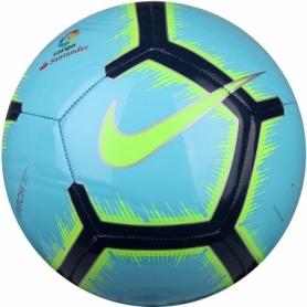 Мяч футбольный Nike La Liga Pitch (SC3318-483-5) - голубой, №5