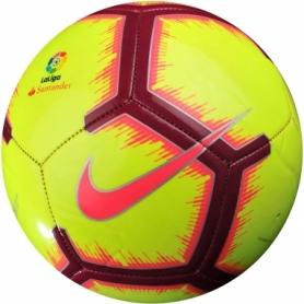 Мяч футбольный Nike La Liga Pitch (SC3318-702-5) - желтый, №5