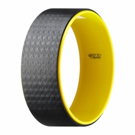 Колесо для йоги и фитнеса 4FIZJO Dharma XXL Yellow (4FJ0131)