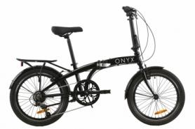 """Велосипед складной Dorozhnik ONYX складний 2020 - 20"""", Черный (OPS-D-20-031)"""