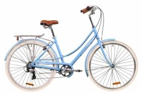 """Велосипед городской женский Dorozhnik SAPPHIRE 2020 - 28"""", рама - 19"""", Альпийский голубой (OPS-D-28-193)"""