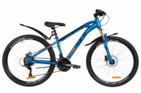 """Велосипед горный Formula DAKAR AM 14G HDD St с крылом Pl 2019 - 26"""", рама - 14"""", Оранжево-бирюзовый (OPS-FR-26-290)"""