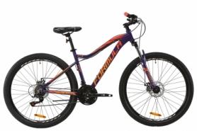 """Велосипед горный Formula ALPINA AM DD 2020 - AL 27.5"""", рама - 17,5"""", Фиолетовый с оранжевым (OPS-FR-27.5-028)"""