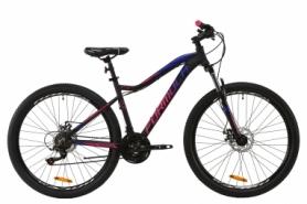 """Велосипед горный Formula ALPINA AM DD 2020 - AL 27.5"""", Серо-розовый с синим (OPS-FR-27.5-029)"""
