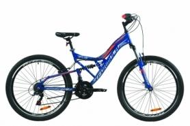 """Велосипед горный Formula ATLAS Vbr 2020 - 26"""", рама - 17"""", Синий (OPS-FR-26-378)"""