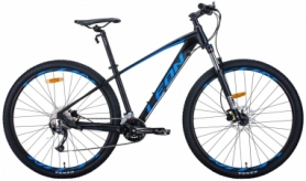 "Велосипед горный Leon TN-70 2020 - 29"", рама - 15,5"", Черно-синий (OPS-LN-29-084)"