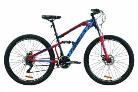 """Велосипед горный Formula BLAZE 2020 - 27.5"""", Синий с красным (OPS-FR-27.5-046)"""