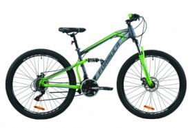 """Велосипед горный Formula BLAZE 2020 - 27.5"""", Серо-зеленый (OPS-FR-27.5-047)"""